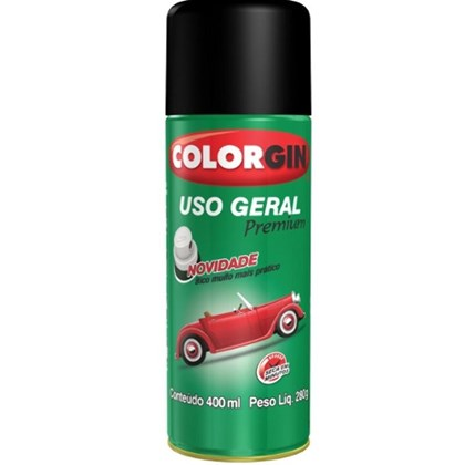 Spray Aluminio P/ Rodas Uso Geral 400ml - Colorgin