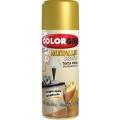 SPRAY CROMADO METALLIK - 350ML COLORGIN