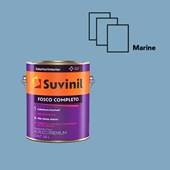 Suvinil Acrílica Fosco Completo 3,6L - Marine