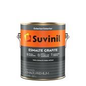 Suvinil Esmalte Sintético Fosco Grafite 3,6L - Cinza Claro