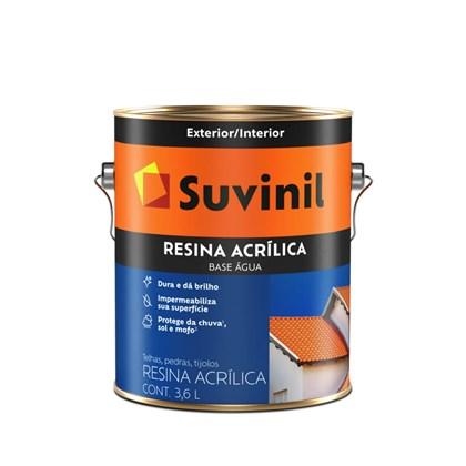 Suvinil Resina Acrílica Cerâmica Onix 3,6L