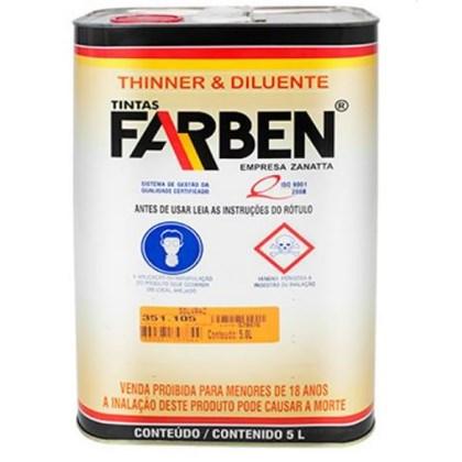 Thinner P/ Esmalte Sintetico 5L - Farben