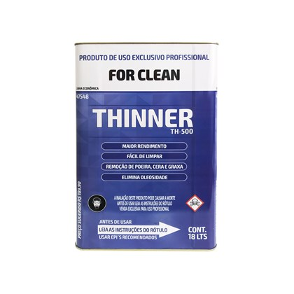 Thinner Para Limpeza 18L Bt Refinish