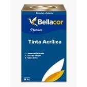 Tinta Acrílica Acentinada Branco 18L Premium Bellacor