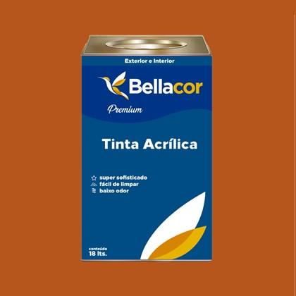 Tinta Acrílica Acetinado C100 Café Espresso 16L Bellacor