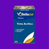 Tinta Acrílica Acetinado C15 Roxo 16L Bellacor