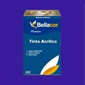 Tinta Acrílica Acetinado C36 Azul Radiante 16L Bellacor