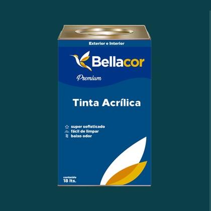 Tinta Acrílica Acetinado C46 Veludo 16L Bellacor