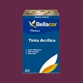 Tinta Acrílica Acetinado C61 Geleia de Ameixa 16L Bellacor