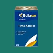 Tinta Acrílica Acetinado C72 Mergulho Azul 16L Bellacor
