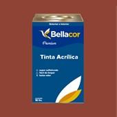 Tinta Acrílica Acetinado C73 Chocolate com Pimenta 16L Bellacor