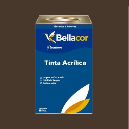 Tinta Acrílica Acetinado C97 Marrom Contemporâneo 16L Bellacor
