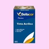 Tinta Acrílica Acetinado Premium A04 Rosa Frio 16L Bellacor