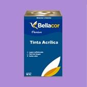 Tinta Acrílica Acetinado Premium A12 Lavanda 16L Bellacor