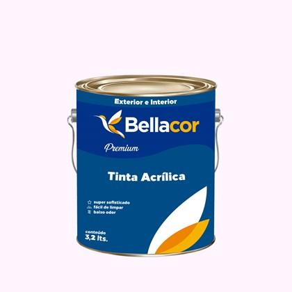 Tinta Acrílica Acetinado Premium A14 Dia Nublado 3,2L Bellacor