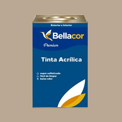 Tinta Acrílica Acetinado Premium A21 Pêssego Rosa 16L Bellaco
