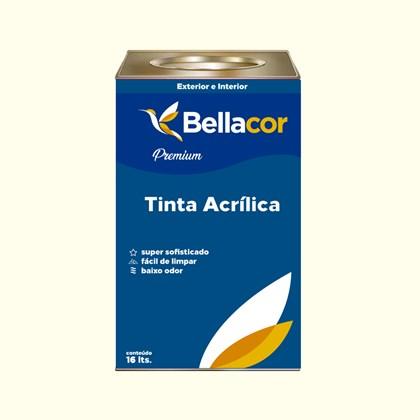 Tinta Acrílica Acetinado Premium A41 Baunilha 16L Bellacor