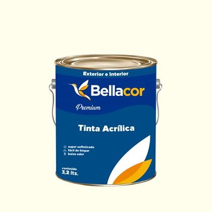 Tinta Acrílica Acetinado Premium A41 Baunilha 3,2L Bellacor