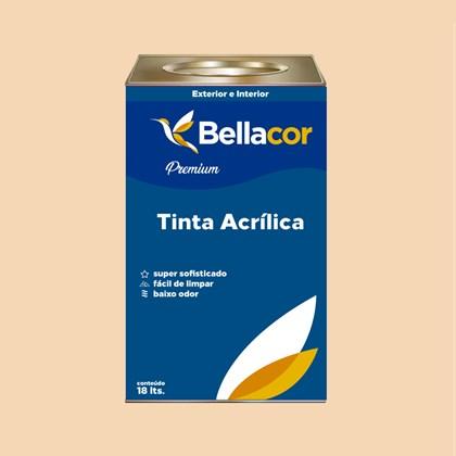 Tinta Acrílica Acetinado Premium A51 Laranja Secreto 16L Bellacor