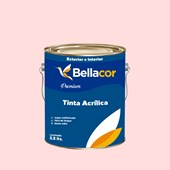 Tinta Acrílica Acetinado Premium A52 Perfume de Rosas 3,2L Bellacor