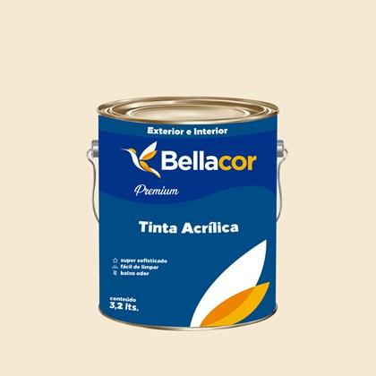 Tinta Acrílica Acetinado Premium A56 Laranja Nobre 3,2L Bellacor