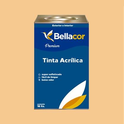 Tinta Acrílica Acetinado Premium A57 Amanhecer 16L Bellacor