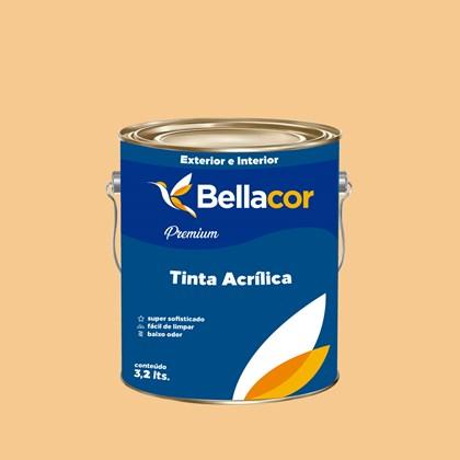Tinta Acrílica Acetinado Premium A57 Amanhecer 3,2L Bellacor
