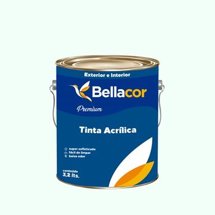 Tinta Acrílica Acetinado Premium A58 Verde Lago 3,2L Bellacor
