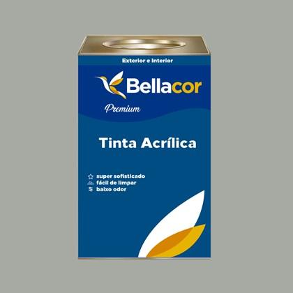 Tinta Acrílica Acetinado Premium A71 Canção Verde 16L Bellacor
