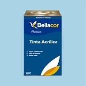Tinta Acrílica Acetinado Premium A84 Azul Francia 16L Bellacor