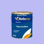 Tinta Acrílica Acetinado Premium A87 Águas do Porto 3,2L Bellacor
