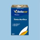 Tinta Acrílica Acetinado Premium A90 Azul Maya 16L Bellacor