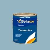 Tinta Acrílica Acetinado Premium A93 Azul Raf 3,2L Bellacor