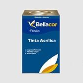 Tinta Acrílica Acetinado Premium A96 Cinza Alumínio 16L Bellacor