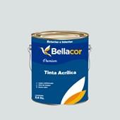 Tinta Acrílica Acetinado Premium A97 Azul Antártico 3,2L Bellacor