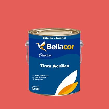Tinta Acrílica Acetinado Premium B06 Oriente 3,2L Bellacor