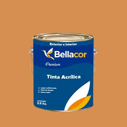 Tinta Acrílica Acetinado Premium B101 Bronze 3,2L Bellacor