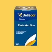 Tinta Acrílica Acetinado Premium B66 Mostarda 16L Bellacor