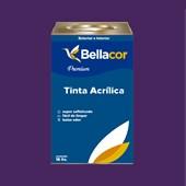 Tinta Acrílica Acetinado Premium C02 Creme de Açaí 16L Bellacor