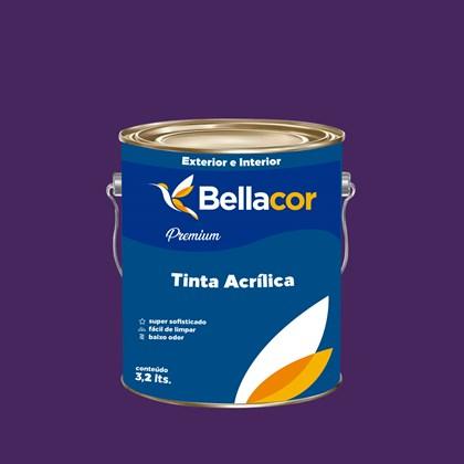 Tinta Acrílica Acetinado Premium C02 Creme de Açaí 3,2L Bellacor
