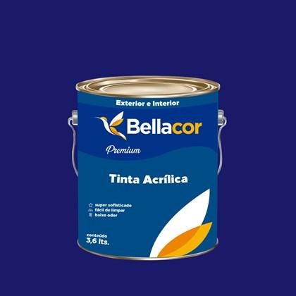 Tinta Acrílica Acetinado Premium C10 Luz do Luar 3,2L Bellacor