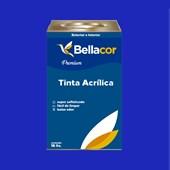 Tinta Acrílica Acetinado Premium C11 Azul Safira 16L Bellacor