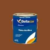 Tinta Acrílica Acetinado Premium C110 Marrom Bombom 3,2L Bellacor