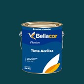 Tinta Acrílica Acetinado Premium C46 Veludo 3,2L Bellacor