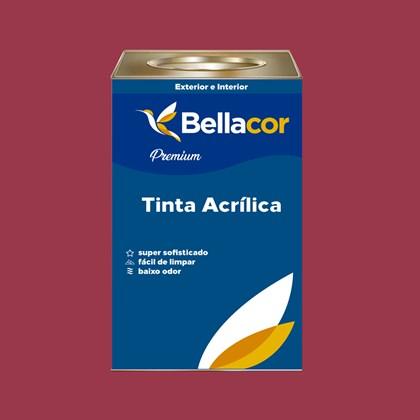 Tinta Acrílica Acetinado Premium C63 Geleia de Amora 16L Bellacor