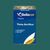 Tinta Acrílica Acetinado Premium C70 Azul de Paúba 16L Bellacor