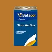 Tinta Acrílica Acetinado Premium C76 Amarelo Ocre 16L Bellacor