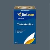 Tinta Acrílica Acetinado Premium C82 Cinza Azulado 16L Bellacor
