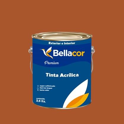 Tinta Acrílica Acetinado Premium C85 Doce de Laranja 3,2L Bellacor