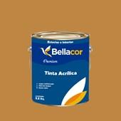 Tinta Acrílica Acetinado Premium C88 Caramelo 3,2L Bellacor